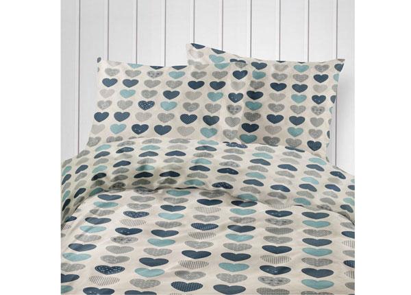 Laste voodipesukomplekt Blue Heart 100x120 cm