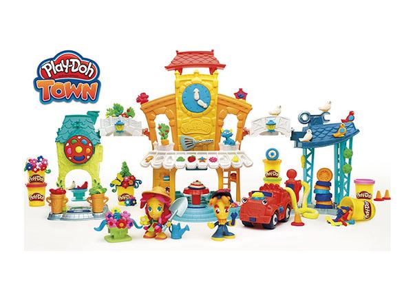 Voolimiskomplekt Play-Doh Kesklinn 3in1 UP-127802