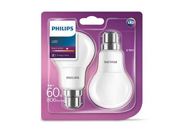 LED pirnid 8 W, 2 tk EW-127900