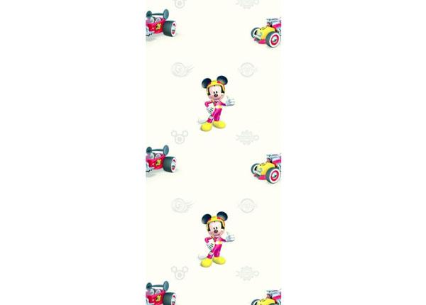 Fliistapeet Mickey Mouse Roadster, Beige 53x1000 cm ED-128035