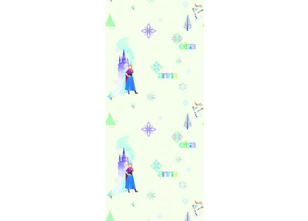 Fliistapeet Frozen: Elza and Anna, Beige 53x1000 cm ED-128065