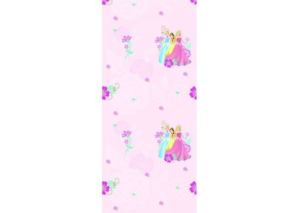 Fliistapeet Multiprincess, Pink 53x1000 cm ED-128082
