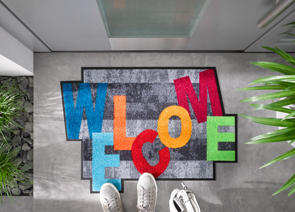 Uksematt Crazy Welcome 60x85 cm