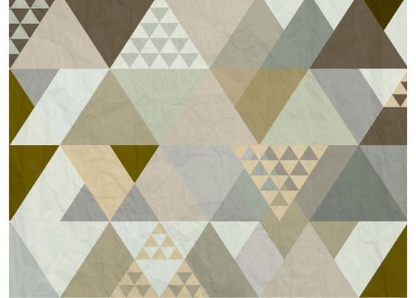 Fliis-fototapeet Triangles 360x270 cm ED-128159