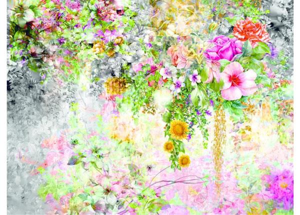 Fliis-fototapeet Flowers 1, 360x270 cm ED-128181