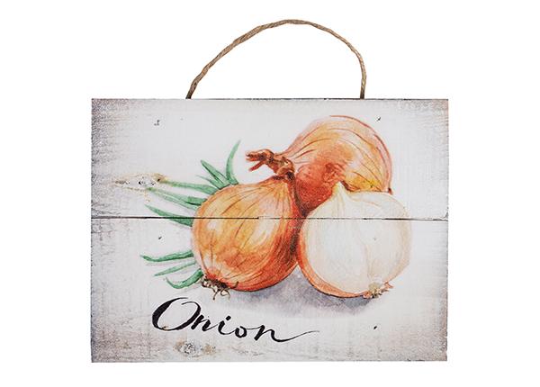 Puitpilt Onion 15x20 cm EV-128198