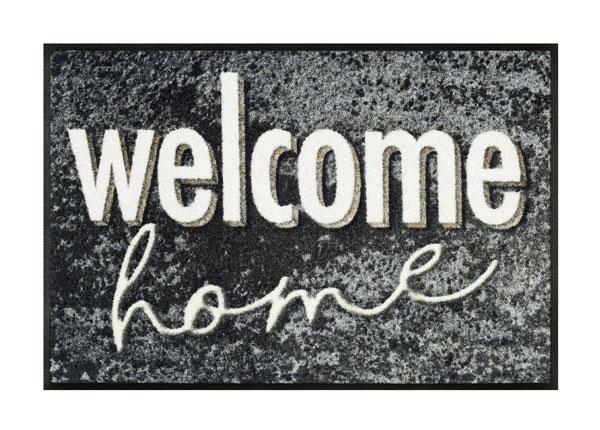 Uksematt Welcome Granite 50x75 cm A5-128330