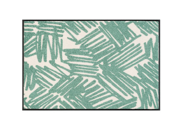 Uksematt Urban Lines green 50x75 cm A5-128336