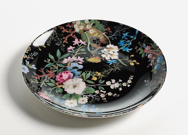 Taldrik Midnight blossom kinkekarbis Ø 20 cm AS-128501