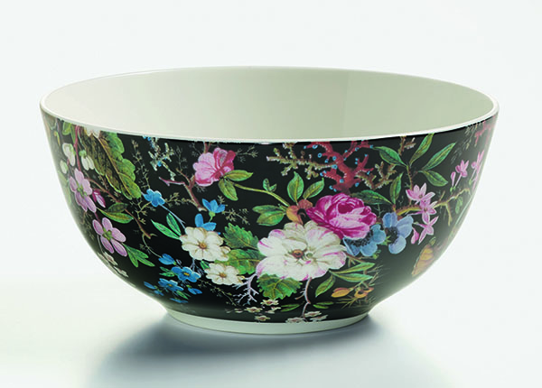 Kauss Midnight blossom kinkekarbis Ø 16 cm AS-128504
