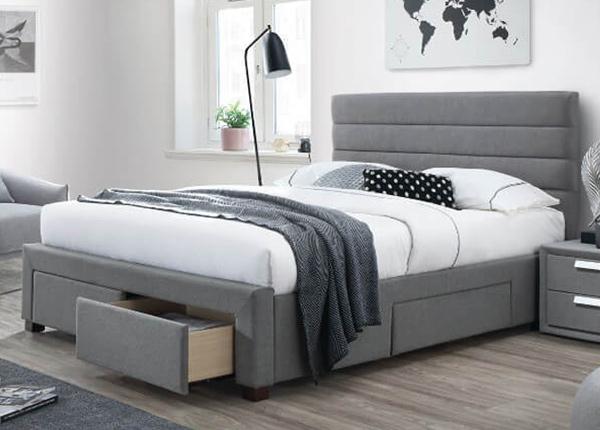 Pesukastiga voodi Kayleon 160x200 cm AQ-128825