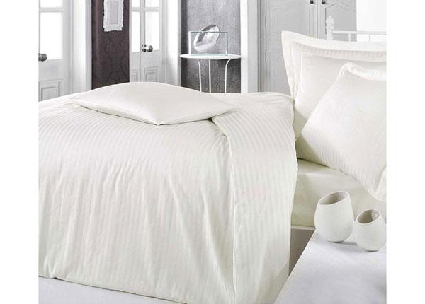 Satiinist voodipesukomplekt Krem 200x220 cm AÄ-128871