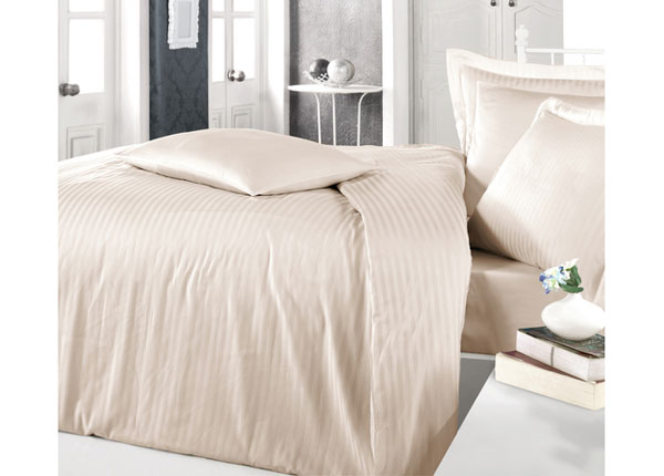 Satiinist voodipesukomplekt Cappuccino 200x220 cm AÄ-128872