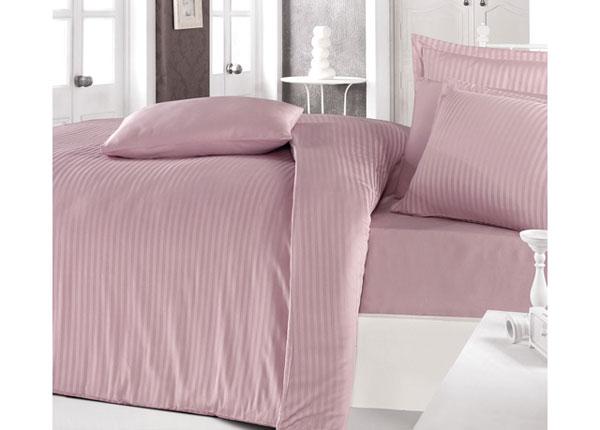 Satiinist voodipesukomplekt Pembe 200x220 cm AÄ-128874