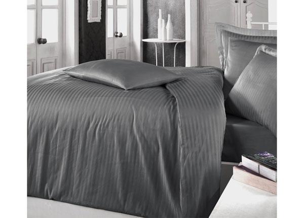 Satiinist voodipesukomplekt Anthrazit 200x220 cm AÄ-128876