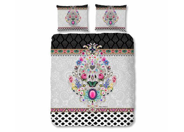 Satiinist voodipesukomplekt Abigail 200x220 cm AÄ-129007