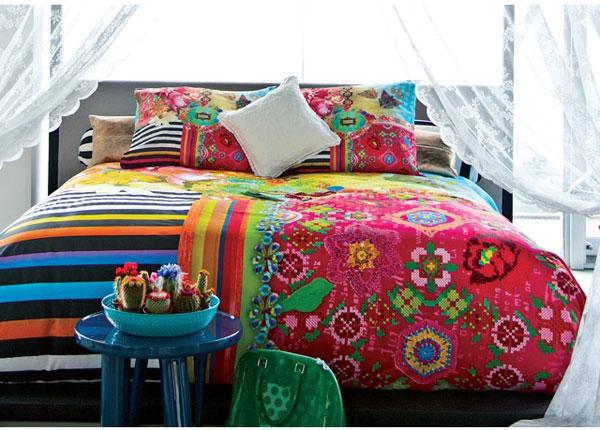 Satiinist voodipesukomplekt Roswitha 200x220 cm AÄ-129017