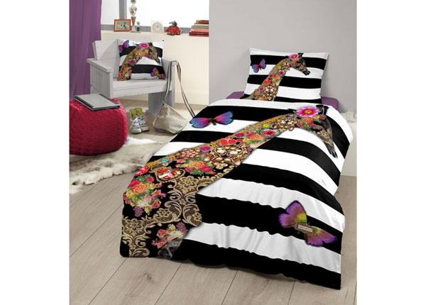 Satiinist voodipesukomplekt Giraffe 140x220 cm AÄ-129043