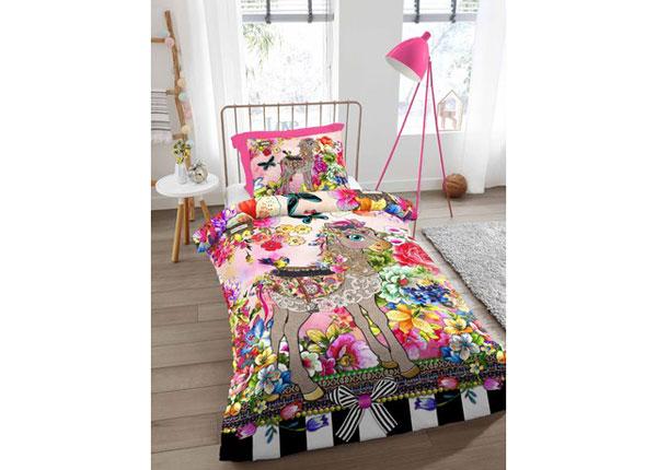 Satiinist voodipesukomplekt Miloui 140x220 cm AÄ-129045