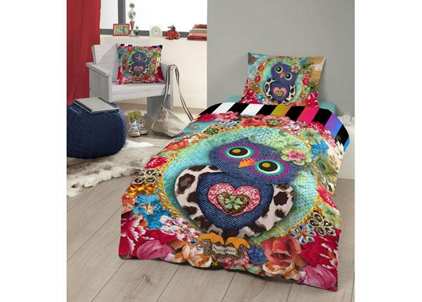 Satiinist voodipesukomplekt Owlie 140x220 cm AÄ-129047