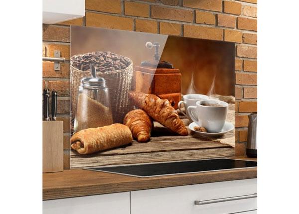 Fotoklaas, köögi tagasein Breakfast Table 40x60 cm