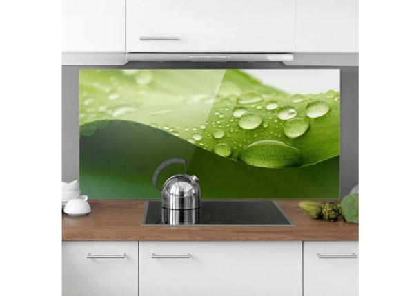Fotoklaas, köögi tagasein Drops Of Nature 40x60 cm