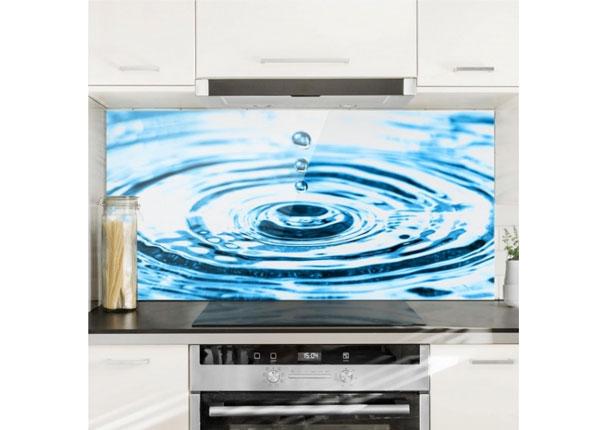Fotoklaas, köögi tagasein Drops Turbulence 40x60 cm