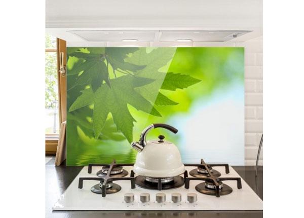 Fotoklaas, köögi tagasein Green Ambiance III, 40x60 cm
