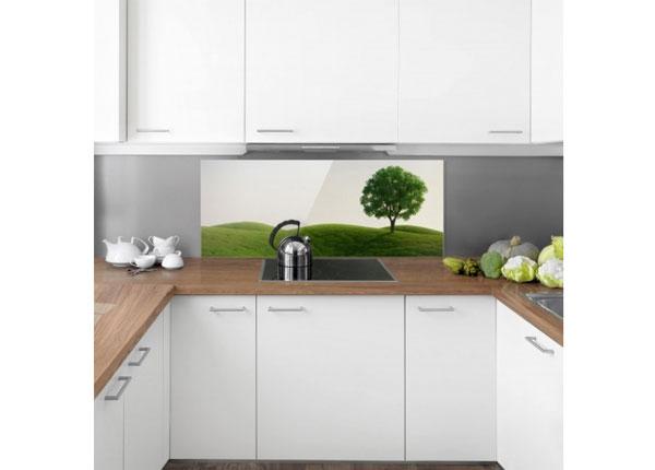 Fotoklaas, köögi tagasein Green Peace 40x100 cm