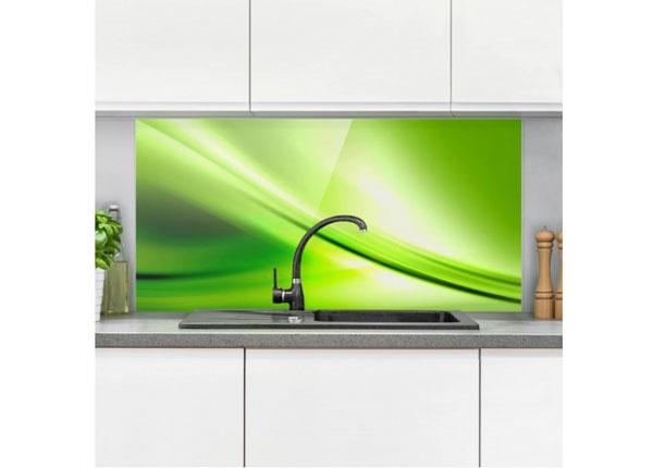 Fotoklaas, köögi tagasein Green Valley 40x60 cm