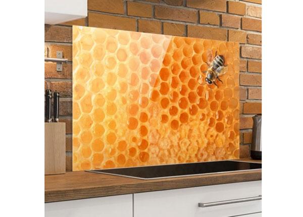Fotoklaas, köögi tagasein Honey Bee 40x60 cm
