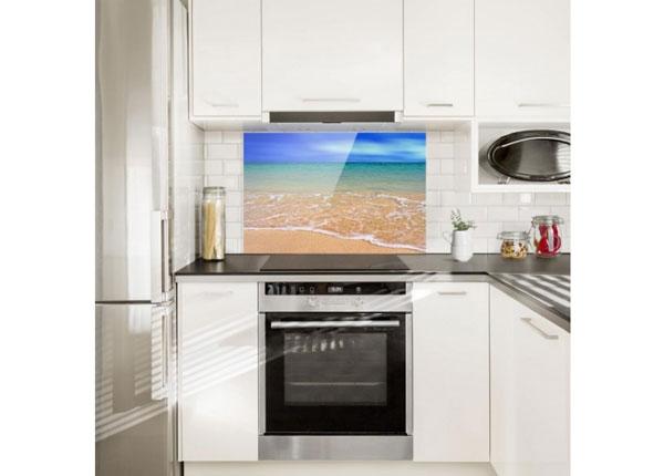 Fotoklaas, köögi tagasein Indian Ocean 40x60 cm