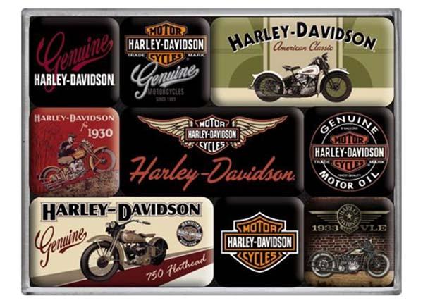 Retro magnetid Harley-Davidson 9 tk SG-129678
