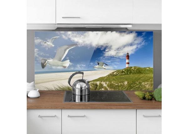 Fotoklaas, köögi tagasein Dune Breeze 1, 40x60 cm