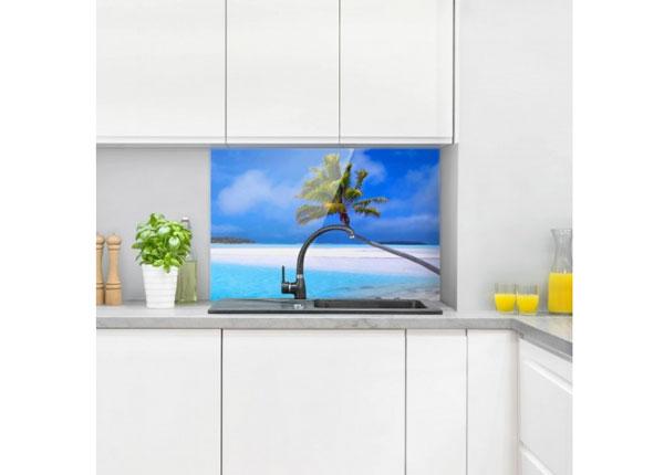 Fotoklaas, köögi tagasein Tropical Dream 40x60 cm
