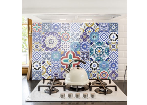 Fotoklaas, köögi tagasein Mirror Tiles 40x60 cm