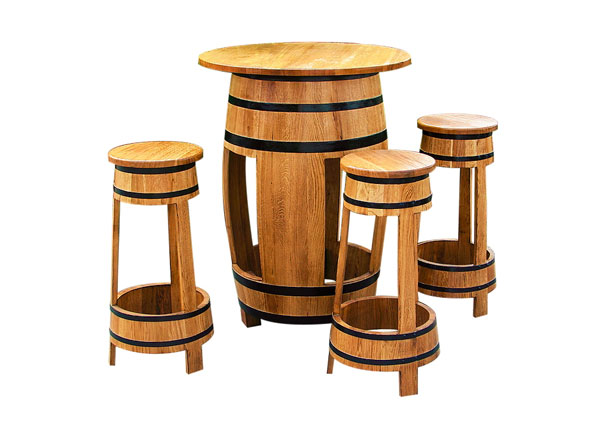 Tammevaadist mööbel Barrel CE-129885