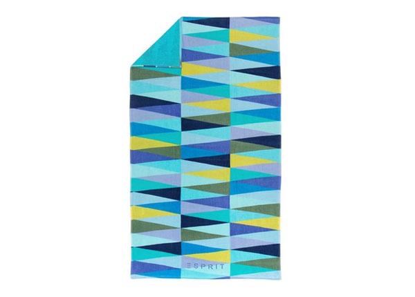 Rannarätik Esprit Pyramid Blue 100x180 cm AÄ-129888