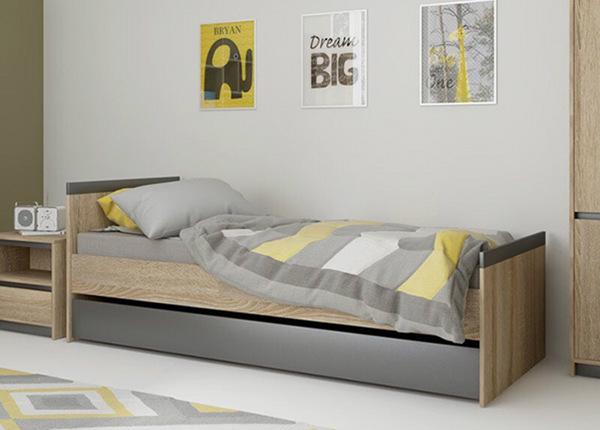 Pesukastiga voodi 90x200 cm TF-130045
