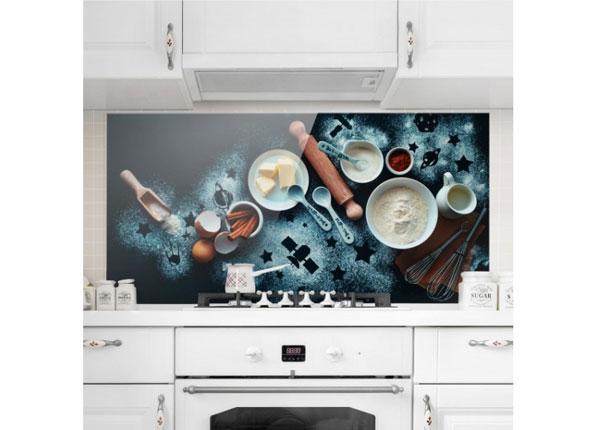Fotoklaas, köögi tagasein Baking For Stargazers 59x60 cm ED-130062