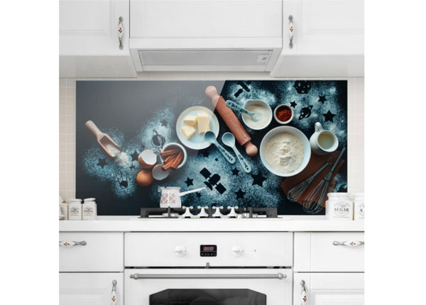 Fotoklaas, köögi tagasein Baking For Stargazers 40x80 cm ED-130063