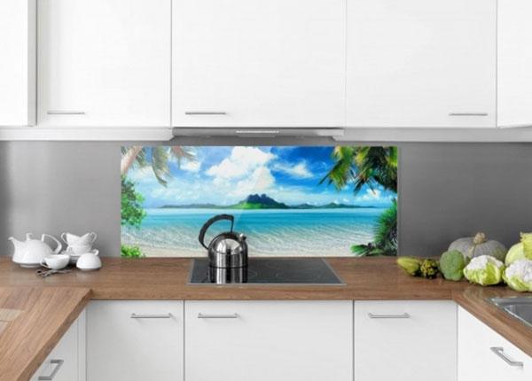 Fotoklaas, köögi tagasein Dream Vacation 40x60 cm