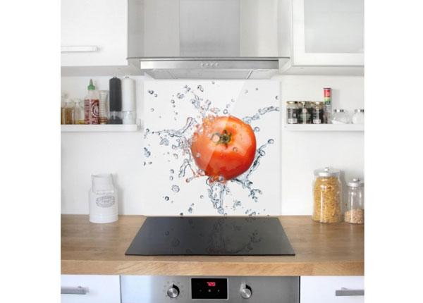 Fotoklaas, köögi tagasein Fresh Tomato 59x60 cm