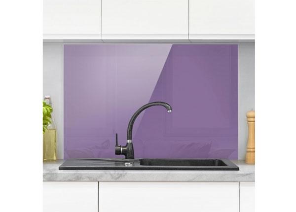 Fotoklaas, köögi tagasein Lilac 11, 40x60 cm