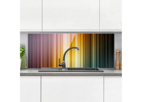 Fotoklaas, köögi tagasein Rainbow Light 40x100 cm ED-130128