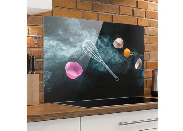 Fotoklaas, köögi tagasein Kitchen Mess 40x60 cm