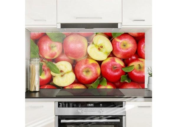Fotoklaas, köögi tagasein Juicy Apples 40x60 cm ED-130178