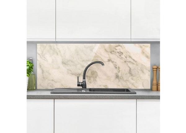 Fotoklaas, köögi tagasein Phoenix Marble 40x60 cm