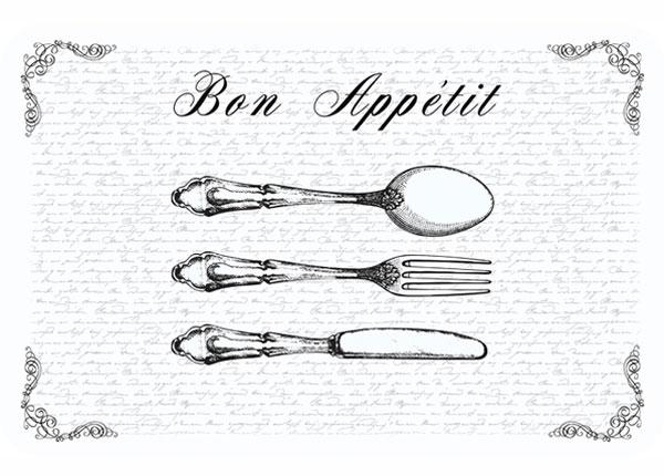 Lauamatt Bon Appetit 4 tk AÄ-130359