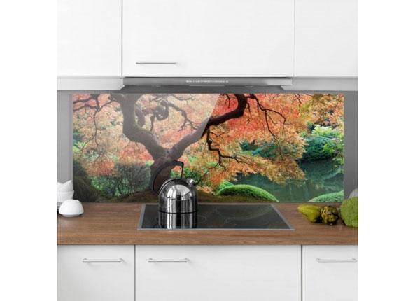 Fotoklaas, köögi tagasein Japanese Garden 59x90 cm ED-130424